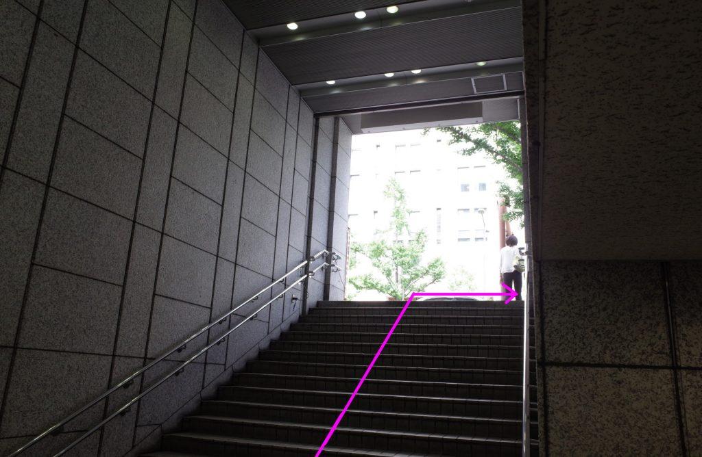 御堂筋線本町駅より徒歩3分ステップ04
