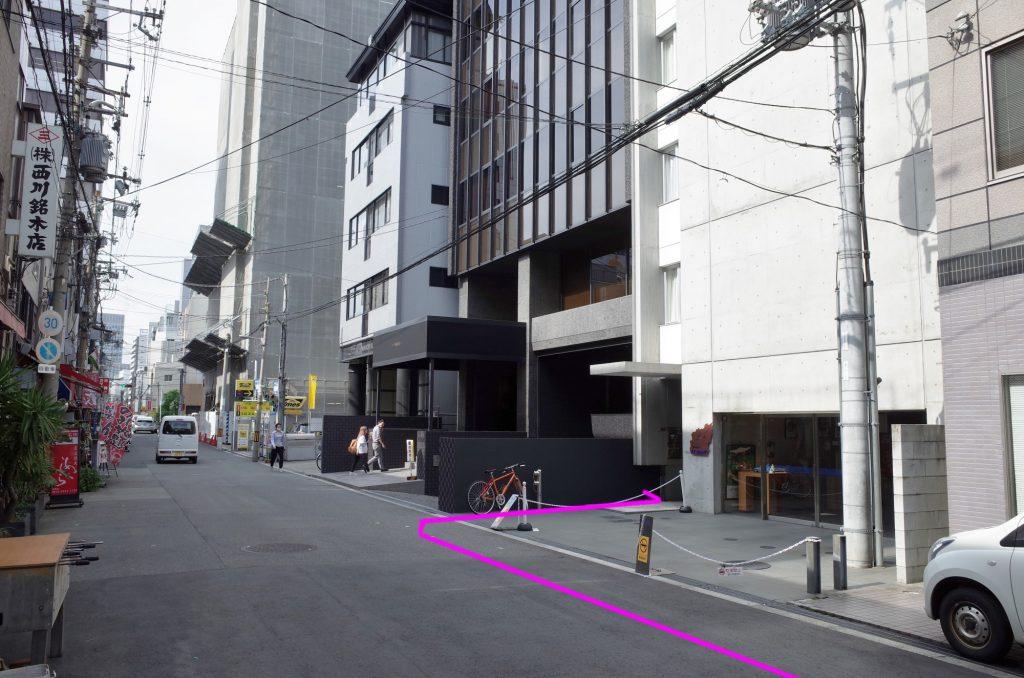 中央線本町駅より徒歩2分ステップ8