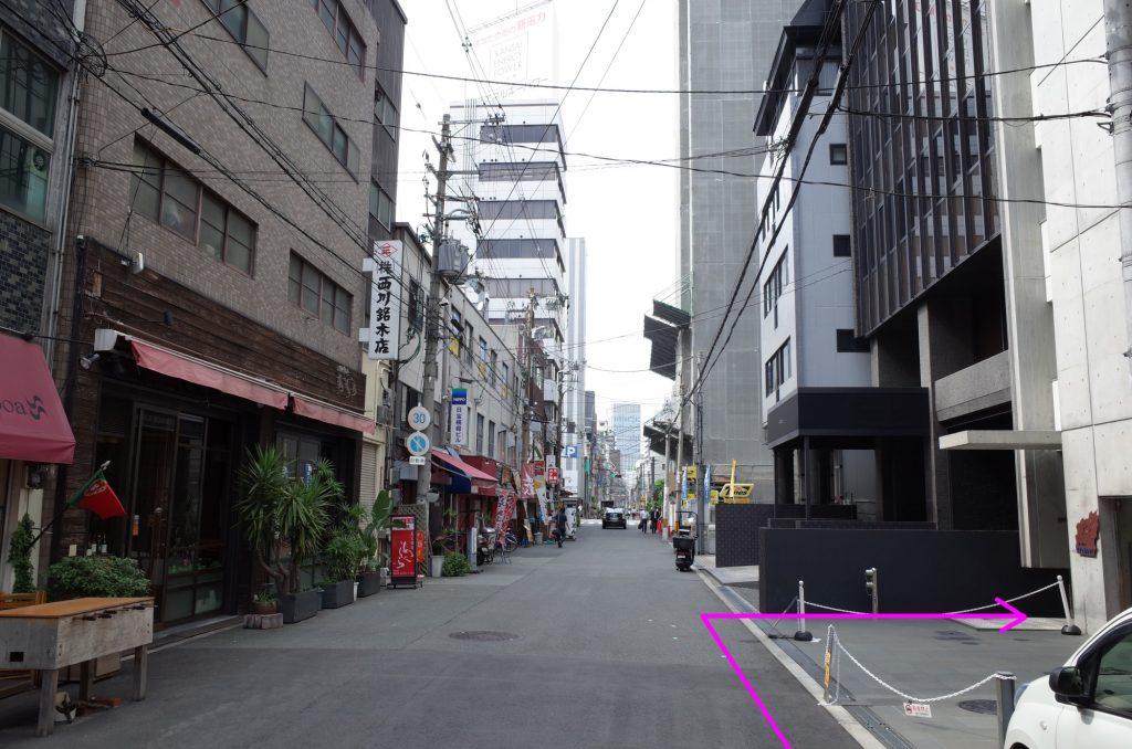 御堂筋線本町駅より徒歩3分ステップ09
